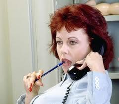 Woman on Phone 2