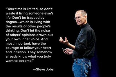 Steve jobs on Intuition
