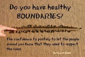 Boundaries sand