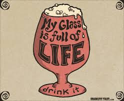 Glass of Life overflowing